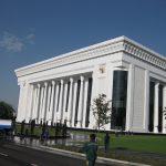 Baustelle Kongresszentrum in Tashkent